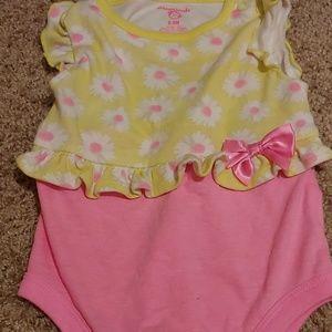 6-9 months girl onesie